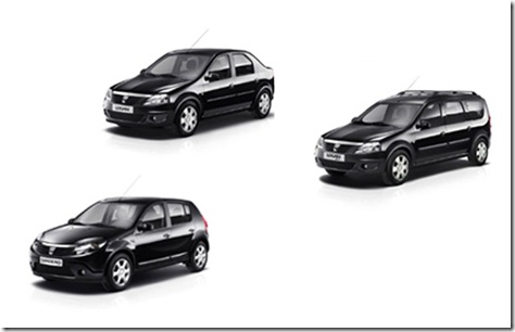 Dacia Black Line